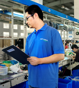 mid-production-inspection in China